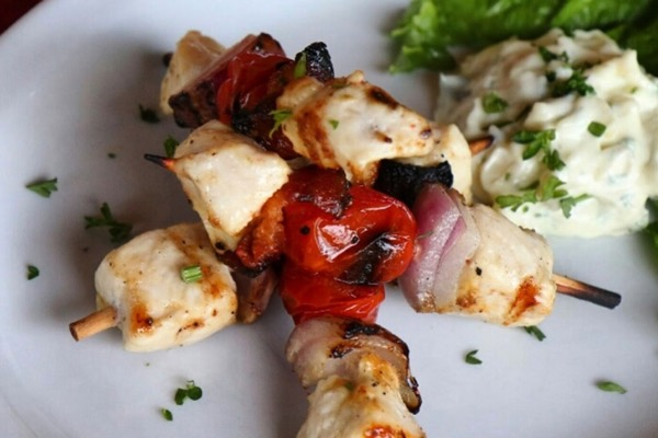 Chicken skewers...delicious!